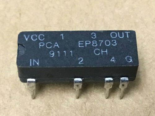 (1 PC)  PCA  EP8703  8 Pin DIP 5 Tap TTL Compatible High Speed Active Delay Line