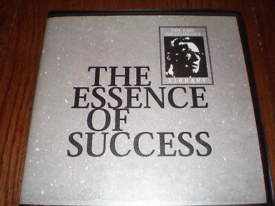 EARL NIGHTINGALE The Essence Of Success (20 CD Audio Set) for sale  Truckee