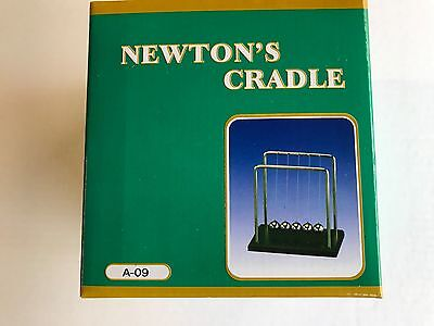 Large Newtons Cradle Office Desk Toy Gravity Balance Balls
