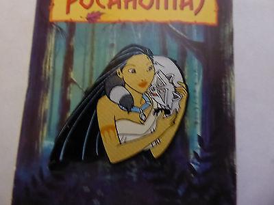 Disney Trading Pins 24585 Pocahontas plastic - Poca & Meeko