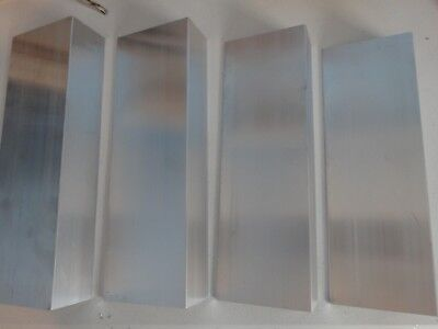 2 X 4 Aluminum Angle 18 Thick 12 In Length 4 Pieces