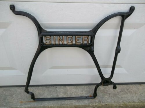 Antique Singer Treadle Sewing Machine Cast Iron Center Support Brace