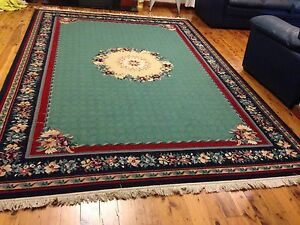 Large patterned Egyptian Rug 240 x 341 Strathfield Strathfield Area Preview