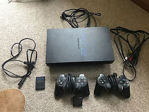 Playstation 2 with 2 controllers and memory card Adelaide CBD Adelaide City Preview