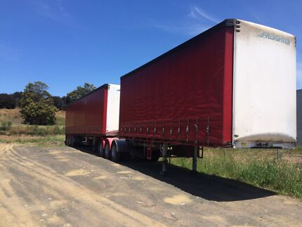 Freighter maxi trans tautliner  B double set 2007