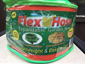 Flexible Garden Hose with nozzle,universal fitting-50 feet