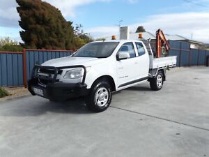 2013 Holden Colorado LX (4x4) *CRANE TRUCK* Margate Kingborough Area Preview