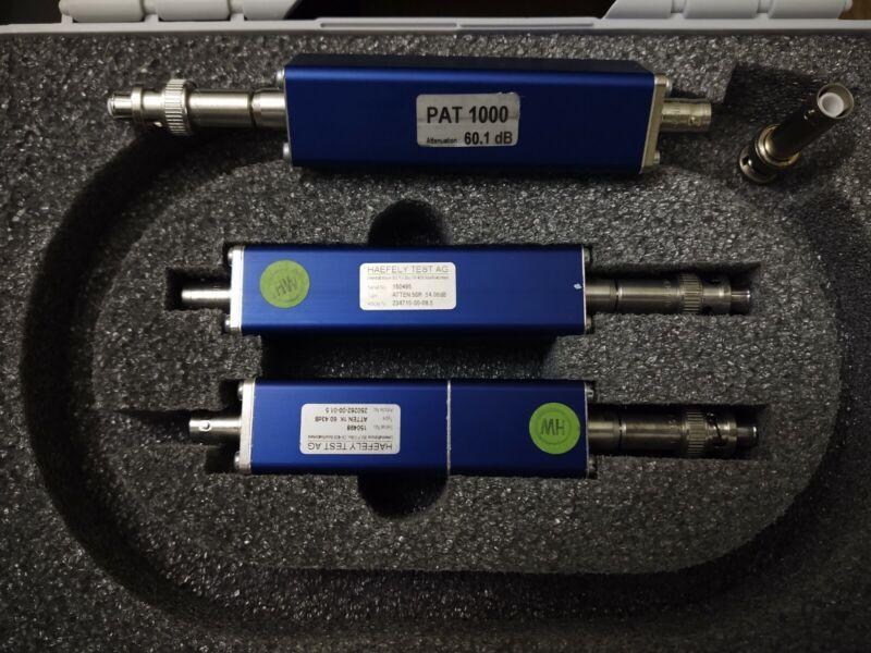 Haefely Test AG 2520111/00 PAT50 PAT1000 EFT Attenuator Set Plus Bonus PAT1000