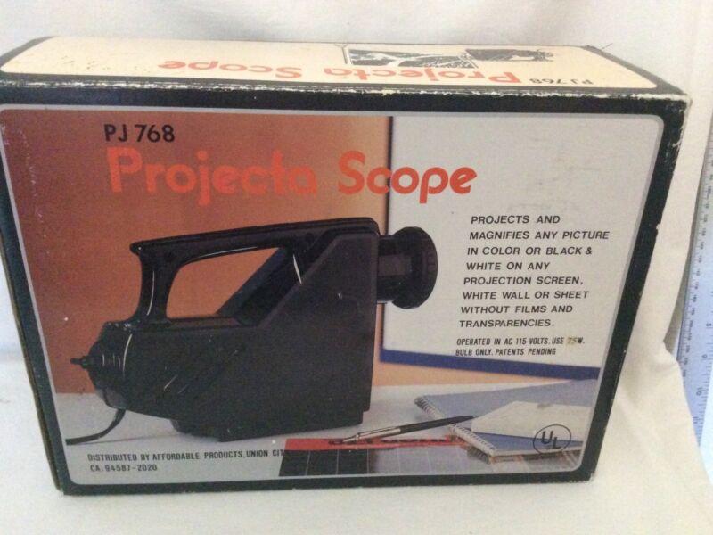 Vintage Projecta Scope Model PJ 768 Tested Works