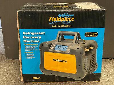 Fieldpiece Mr45 Digital Refrigerant Recovery Machine Brand New In Box
