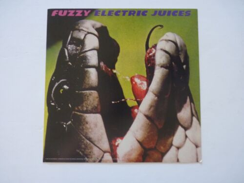Fuzzy Electric Juices LP Record Photo Flat 12x12 Poster