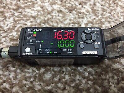 Intelligent-l Laser Displacement Sensor Keyence Il-1000 And Il-030 Interface Fa