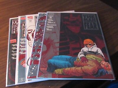 Daredevil the Man Without Fear #1 2 3 4 5 Frank Miller Comic Book Set Complete  Complete Comic Book Collection