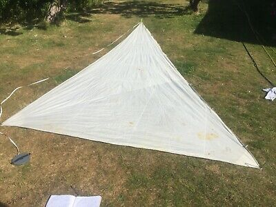 24ft3 X 10ft6in jib genoa yacht sailing head sail boat hank on, sun shade canopy