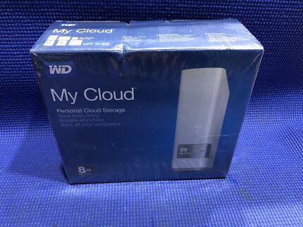 WD My Cloud Personal Storage (8tb)