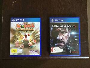 """Worms: Battlegrounds"" & ""Metal Gear Solid V: Ground Zereos"" PS4 Lutwyche Brisbane North East Preview"