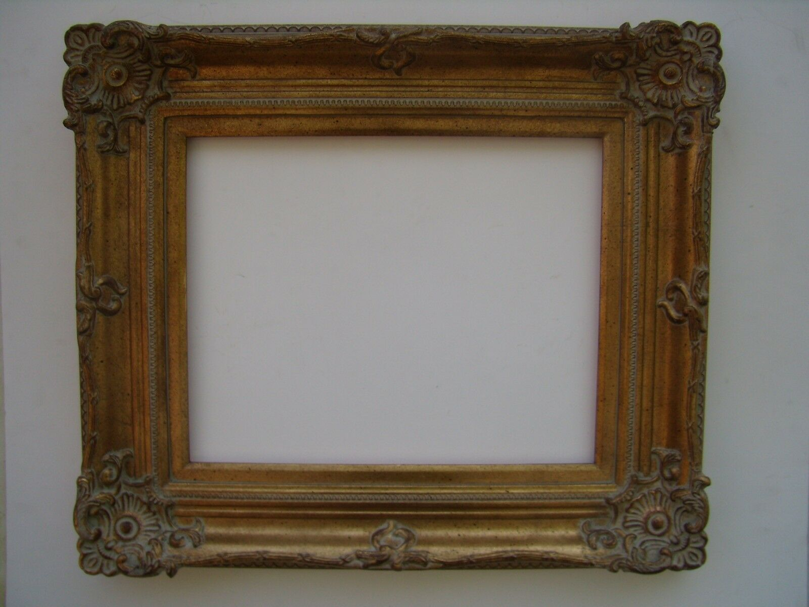 wide ornate gold traditional decorative victorian picture portrait frame 24x36 3 3 of 3 see more