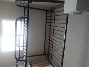 black metal bunkbeds