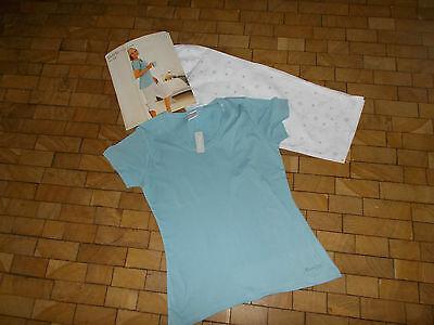 Geprüft Schlafanzug (Moonlight Schlafanzug Pyjama  Gr. S  36/38 **NEU** Schadstoffgeprüft)