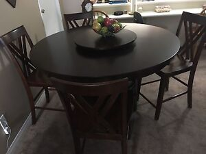 BRAND NEW KITCHEN DINETTE AND FOUR CHAIRS DINNING ROOM