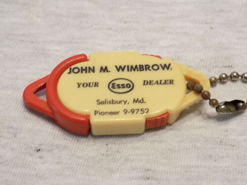 VINTAGE ESSO KEY CHAIN