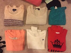 6 knit sweaters for $30