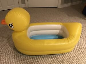 Inflatable ducky rub