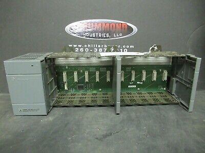 Allen Bradley Slc 500 Power Supply 1746-p2 Ser. C W 1746-a10 Ser.b 10 Slot Rack