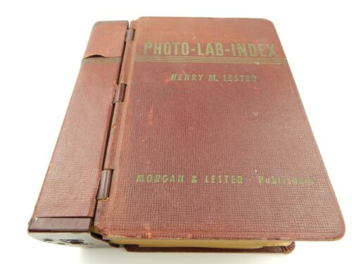 Vintage PHOTO-LAB-INDEX 11th Edition 1951 Morgan & Lester RARE Henry Photography