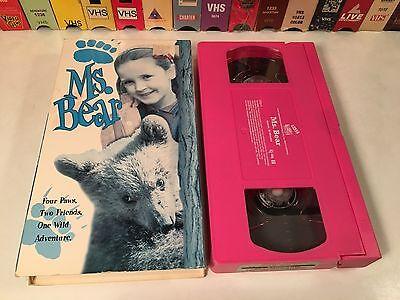 * Ms. Bear Family Wilderness Adventure VHS 1997 Ed Begley Jr. Kaitlyn Burke