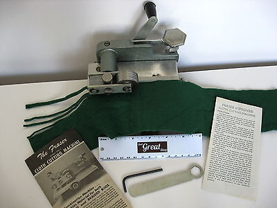 Fraser 500-1 Wool or fabric cutter/Cloth slitter/rug hook & #4 cutting Wheel