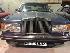 1987 Rolls Royce Silver Spirit, 85 miles