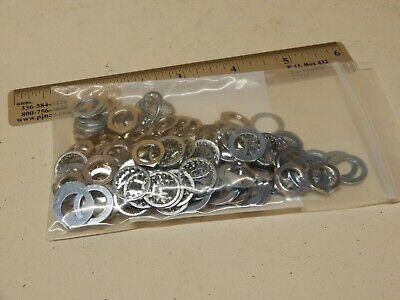 50 Sets of 1/4 Shaft Standard Potentiometer Hardware NOS Nut Washer Star Washer