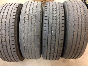 4 Firestone Tires LT  245/75R17