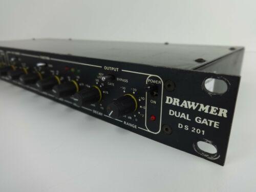 Audio Noise Gate Drawmer DS201 Analogue Recording Signal Gate Studio Rack Gear