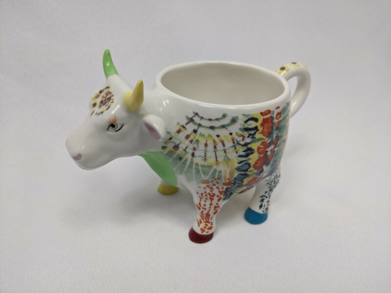Holdings Corporation Cow Parade 2001 3D Multicolor Coffee Mug Tea Cup