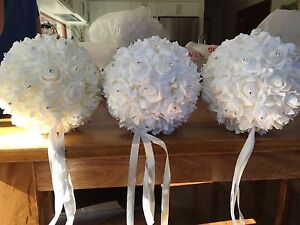 Wedding decorations silk flowers Wattle Grove Liverpool Area Preview