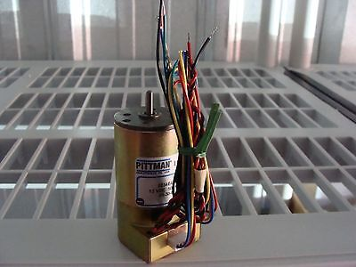 New Pittman 9234e454 12vdc Motor 500cpr