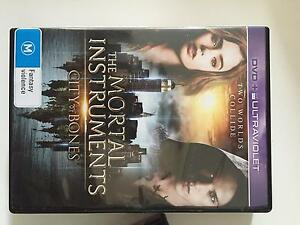 THE IMMORTAL INSTRUMENTS CITY OF BONES DVD Perth Perth City Area Preview
