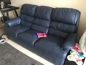 3 Seat Leather couch Ultimo Inner Sydney Preview