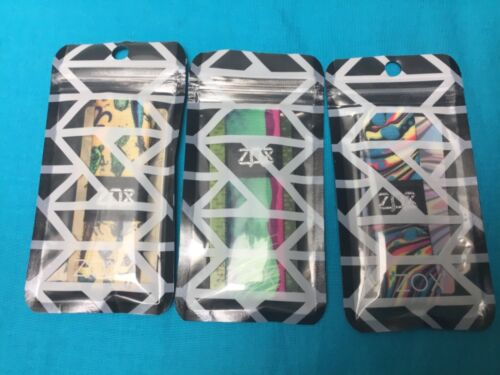 Lot of 3 Zox wristbands BAITED, MEANT TO LIVE, SOMETHING NEW