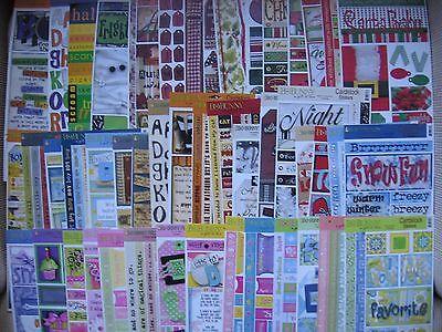 Bo Bunny Stickers Christmas Holly Autumn Halloween Boys Girl Brother Family Love - Bunnies Halloween