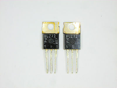 Buz72 Generic Replacement Fet Transistor 2 Pcs