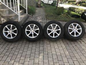 Mercedes GLK mags Bridgestone Blizack  235-65-17 5x120 550.00