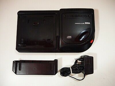 Console Extension Accessory Sega Mega-CD II 2 Megadrive Pal loose