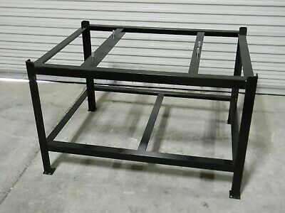 Professional Surface Plate Stand For 48 X 36 Plates 30 Height Steel Black