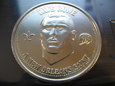 dave rowe penn state saints Mardi Gras Doubloon Coin new orleans