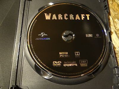 Warcraft Dvd Disc Only New
