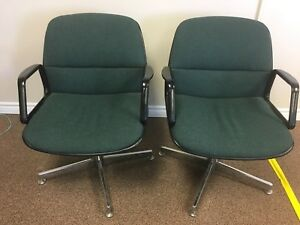 Steelcase vintage chairs