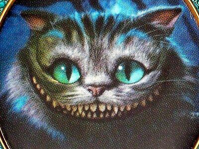 LE 100 Disney Pin✿Tim Burton Alice Wonderland Cheshire Cat Heart Keyhole Dee Dum